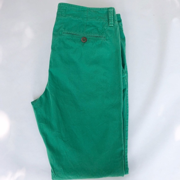 American Eagle Outfitters Other - American Eagle - Green Pants Sz.32/32